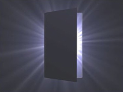 silueta de puerta a contraluz: regresar a la vida de entre los muertos