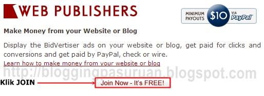 Cara Lengkap Daftar Menjadi Publisher Bidvertiser