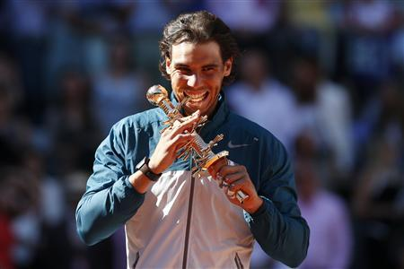 Nadal defeats Wawrinka to win Madrid open
