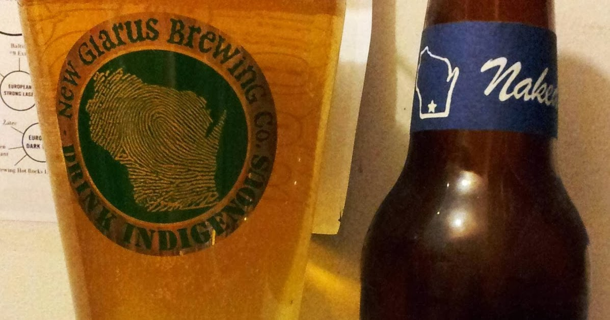 Totally Naked - American Pale Lager - New Glarus Brewing Co.