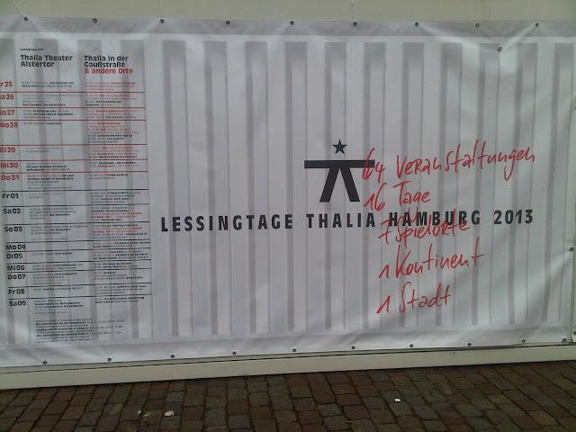 Werbung vom Thalia-Theater