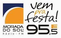 ouvir a Rádio Morada do Sol FM 95,5 São Sebastião SP