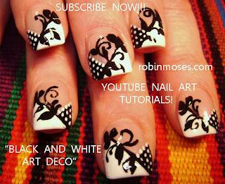 """robin moses nail art """"elegant nail art"""" """"christmas party"""