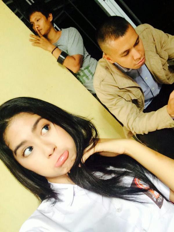 Foto Cute Ochi Rosdiana Pitaloka Bersama Samuel Rizal atau Erik