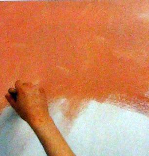 Textura con Tela, Técnicas, Efectos y Acabados Decorativos con Pintura