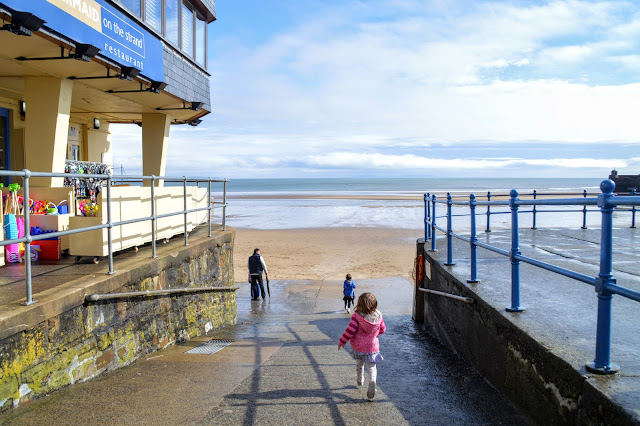 Family fun day out Saundersfoot Pembrokeshire Travel