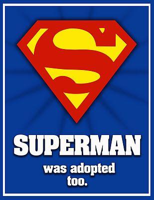 superman adoptado