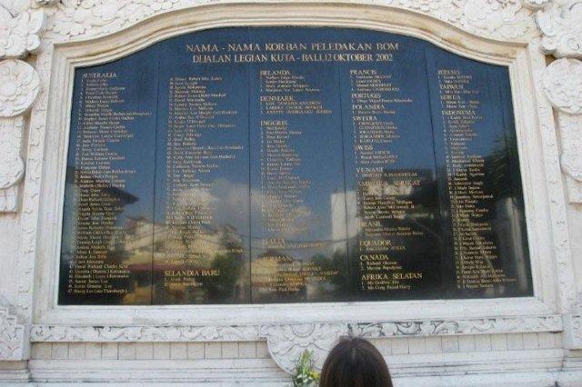 Monumento Conmemorativo de los atentados de Bali de 2002, Kuta, Bali
