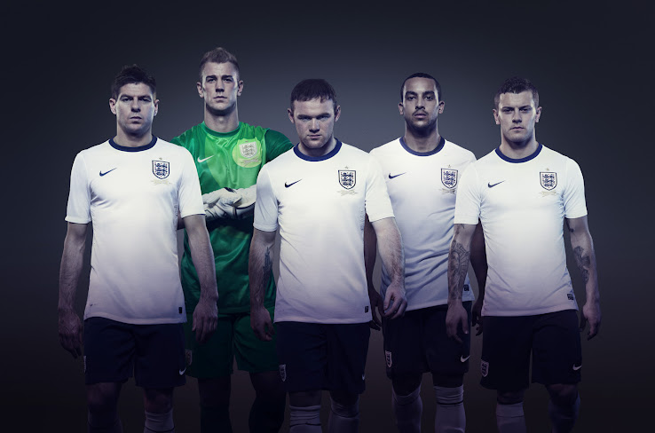 And the fa today unveiled the new nike england kit. the nike england