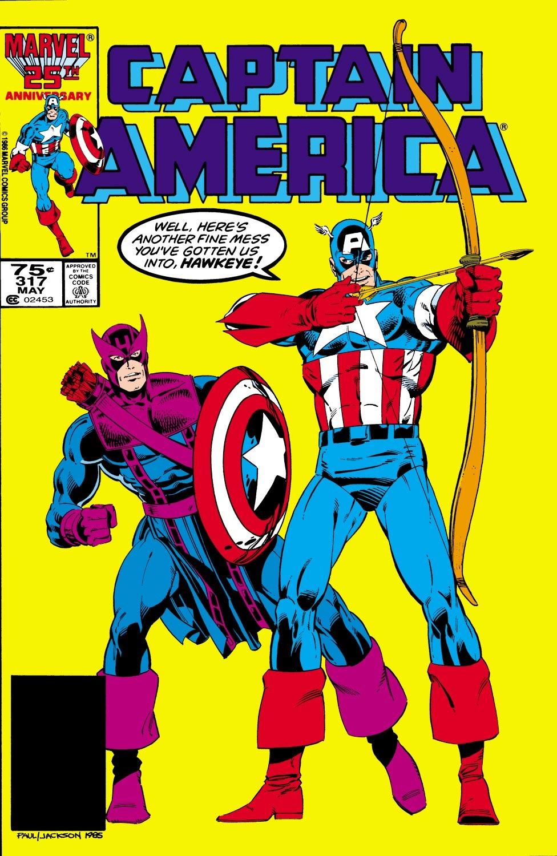 Captain America (1968) Issue #317 #245 - English 1