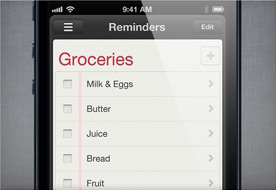 iphone groceries