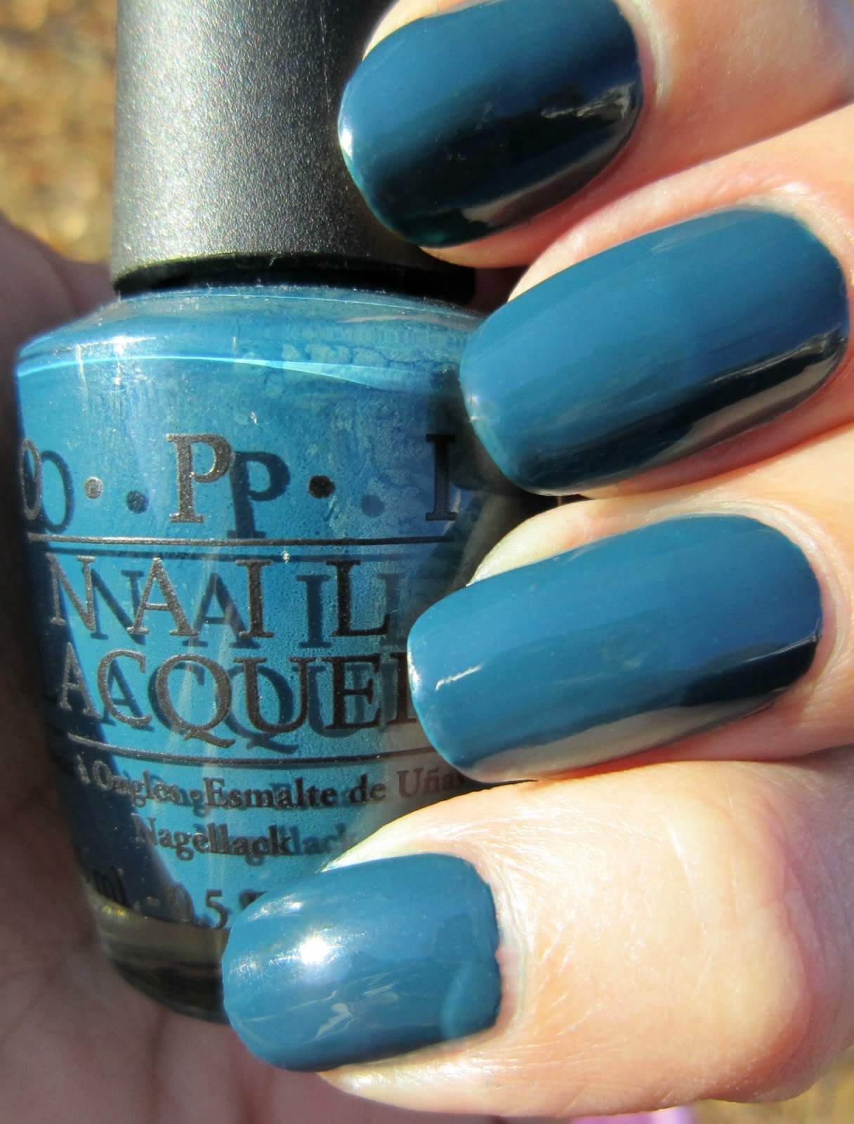 Concrete and Nail Polish: OPI
