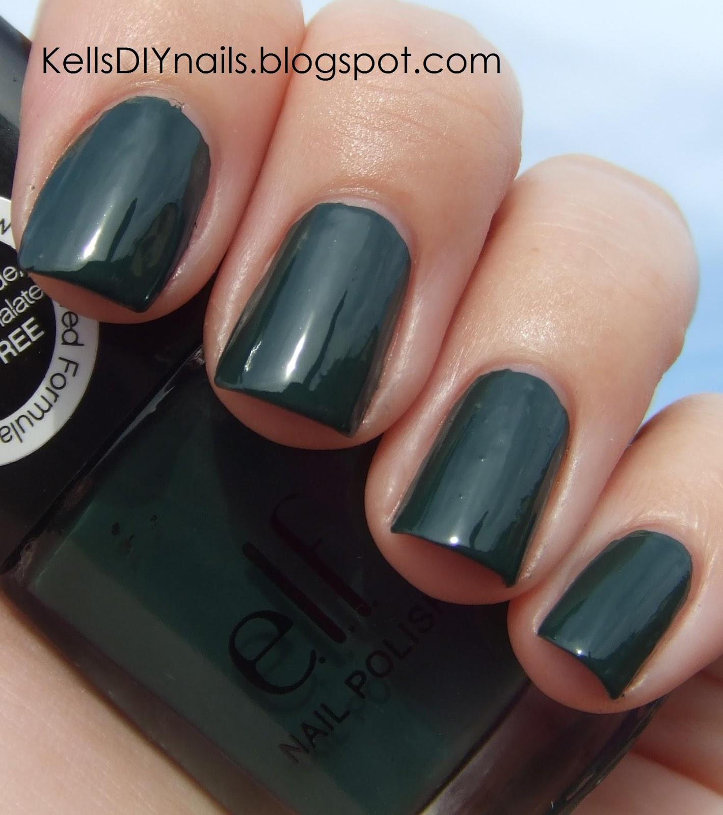 Kell\'s DIY Nails: e.l.f., 2012 New Colors.