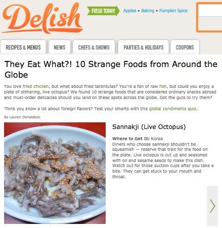 http://www.delish.com/food-fun/strange-food#slide-1