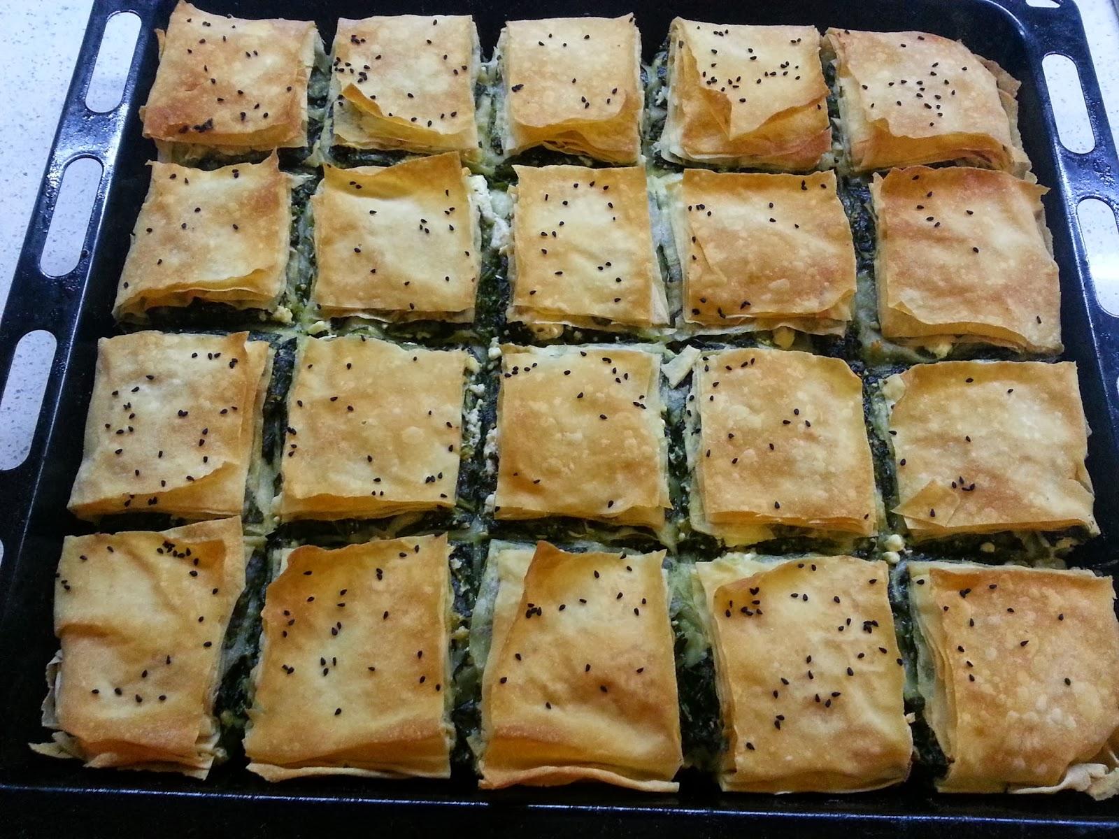ıspanaklı börek, ıspanak yemeği, ne pişirsem, börek, çeşit, ikramlık, misafir, yemek, tuzlu, peynirli, yufka