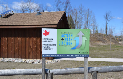 new washrooms near the Regan House, Scout Valley, Orillia