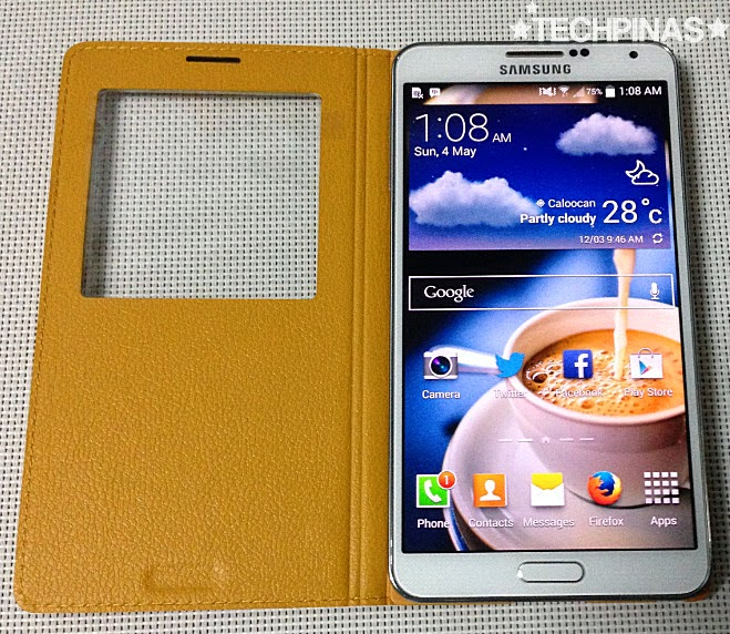 Samsung Galaxy Note 3 Window Case, Samsung Galaxy Note 3 Flip Cover, Samsung Smartphone Case