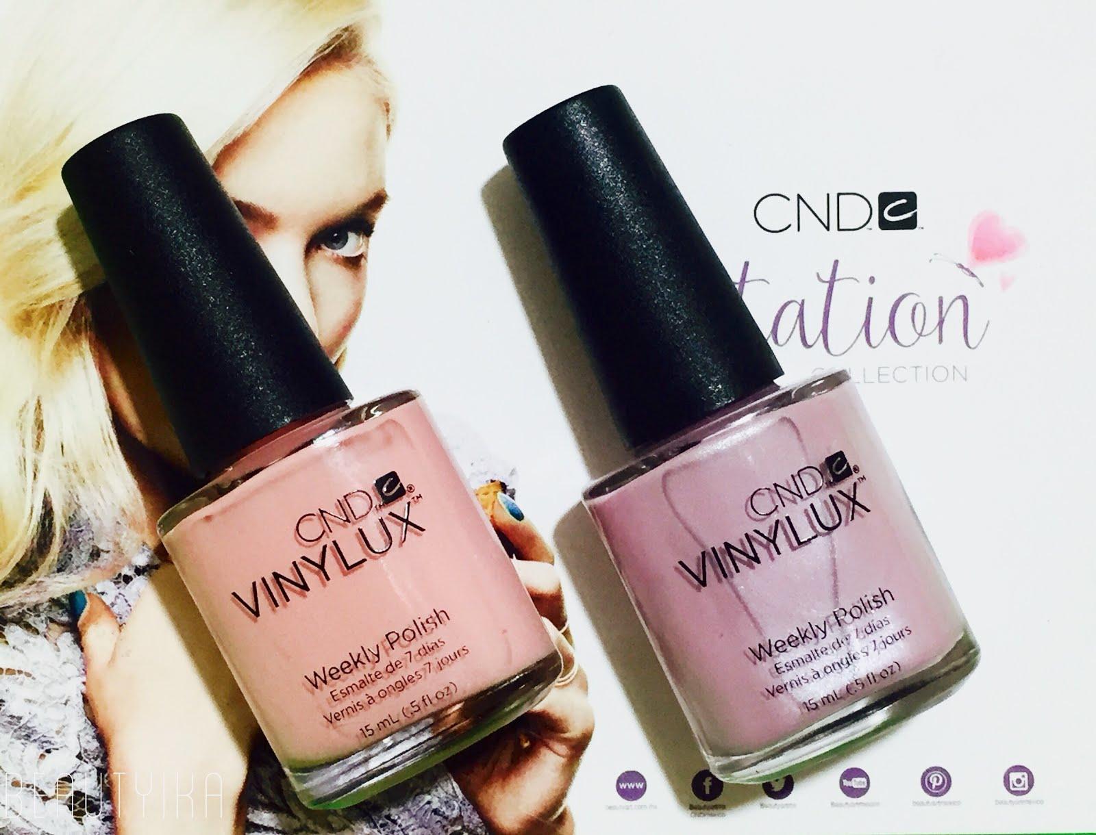 Beautyika - blog de belleza mexicano : Esmaltes Vinylux Weekly de CND