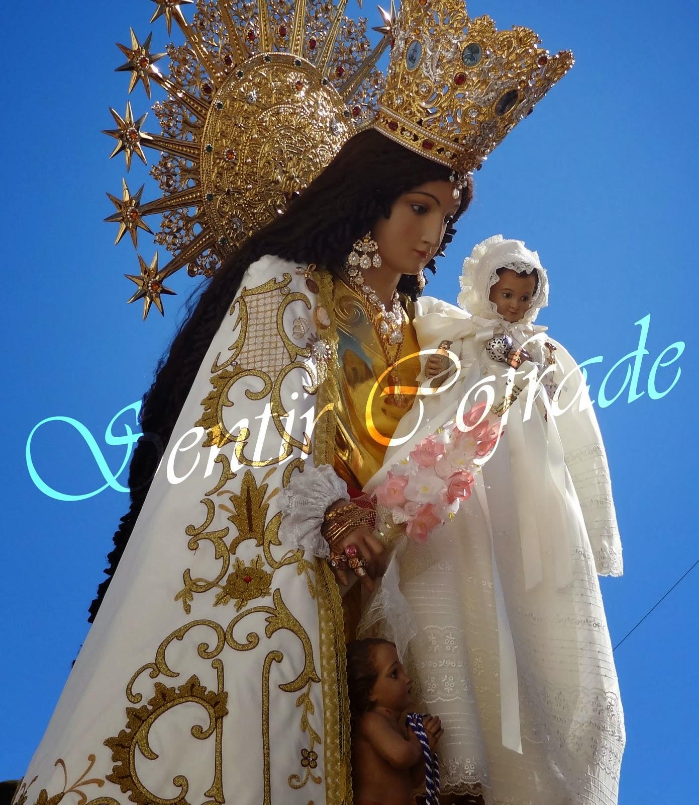 esta noche Virgen hermoso cerca de Murcia