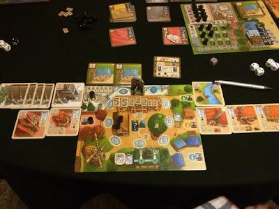 My Village plancia giocatore