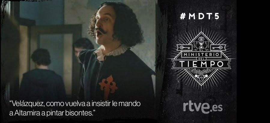 El Ministerio del Tiempo Tropa Friki Cervantes 2