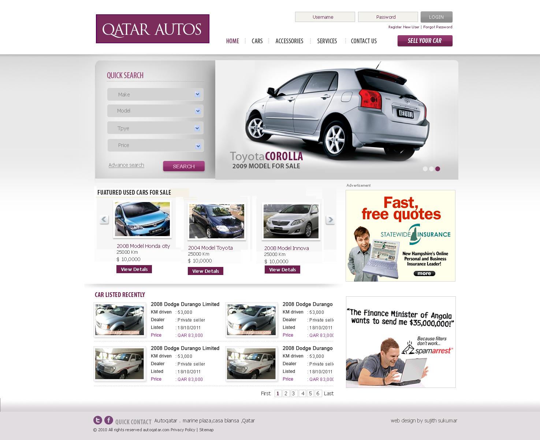 freelance web designer in kerala best web designer kerala web designer cochin used car website. Black Bedroom Furniture Sets. Home Design Ideas
