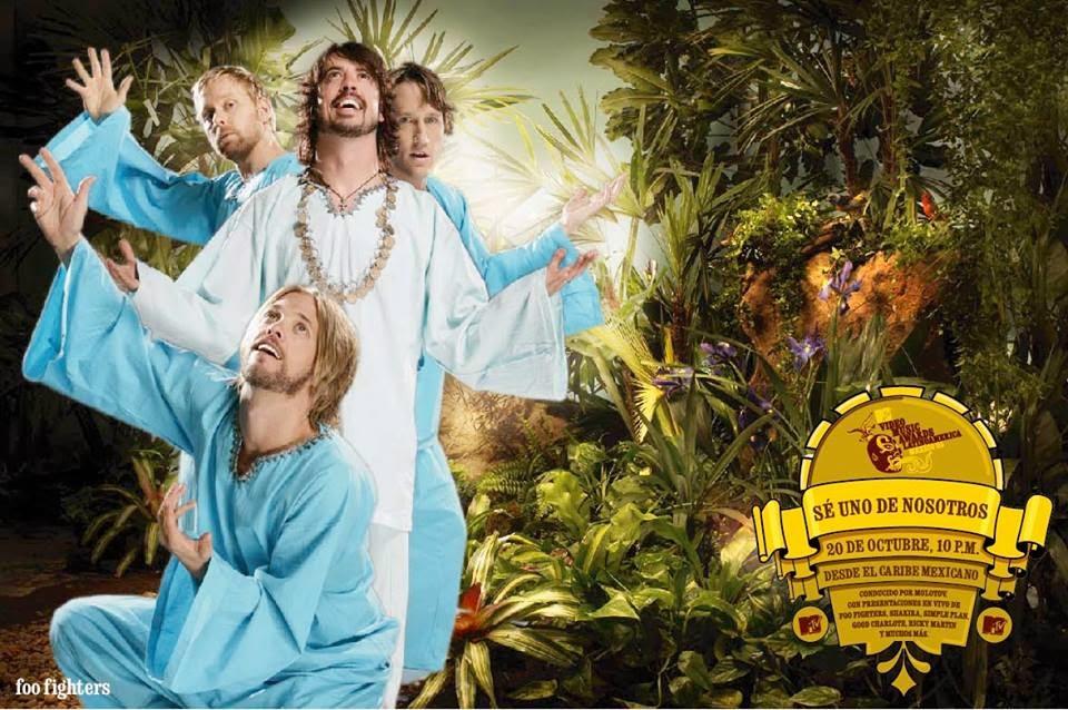 Foo Fighters Pato Da Cunha Ambientación y Vestuario