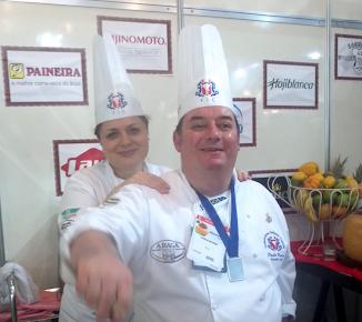Chef Paulinho Pecora e Chef Rosana Parisi
