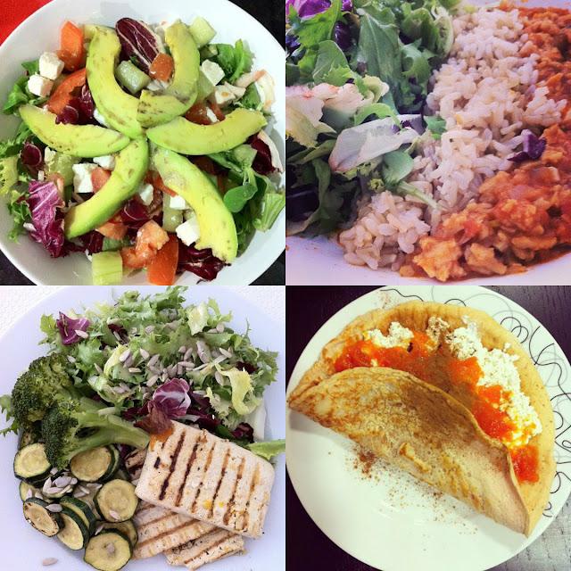 food inspiration, vegeratiano, daniela pires, dieta, panqueca preoteica light, diet, vegetarianism, tofu, seitan, salada de abacate