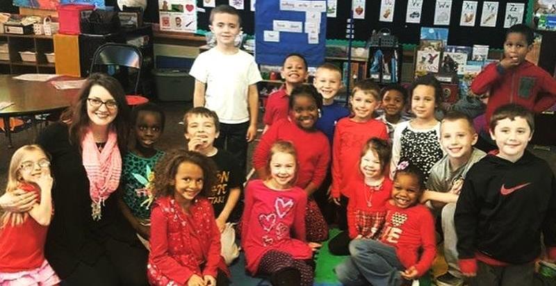 Ms. Erikson's First Grade Class