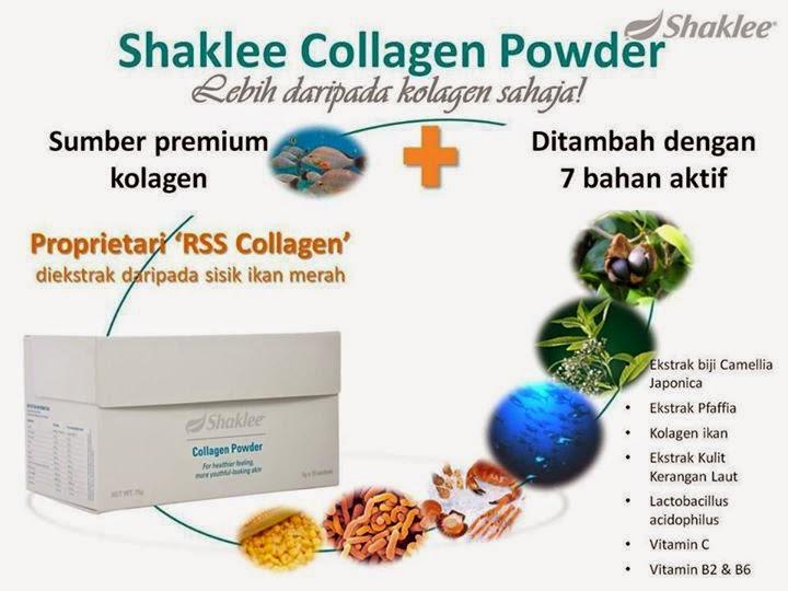 Collagen Powder Shaklee tingkatkan kecantikan wanita dalam dan luar bagi memikat suami