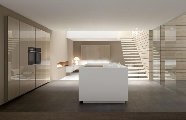 El acabado de la cocina brillo o mate cocinas con estilo - Limpiar azulejos cocina para queden brillantes ...