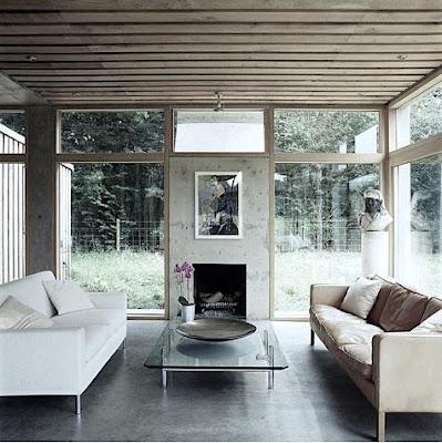 15 ideas dise o de interiores con paredes de concreto u - Diseno de interiores paredes ...