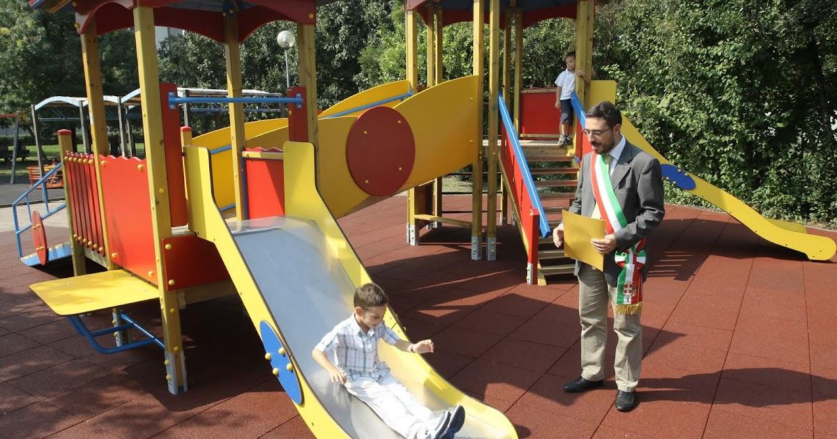 Antonio Marco Dalla Pozza Inaugurato Al Parco Giochi Del