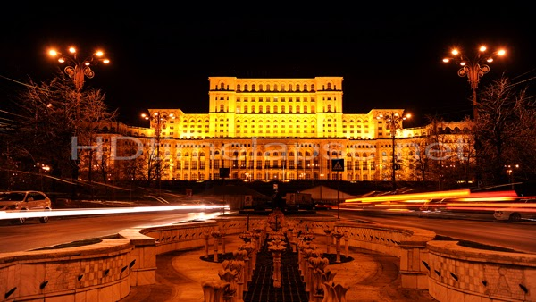Bucharest at night (Romania)
