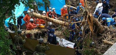 Tifón amenaza el sur de Japon, 16 de Julio 2012
