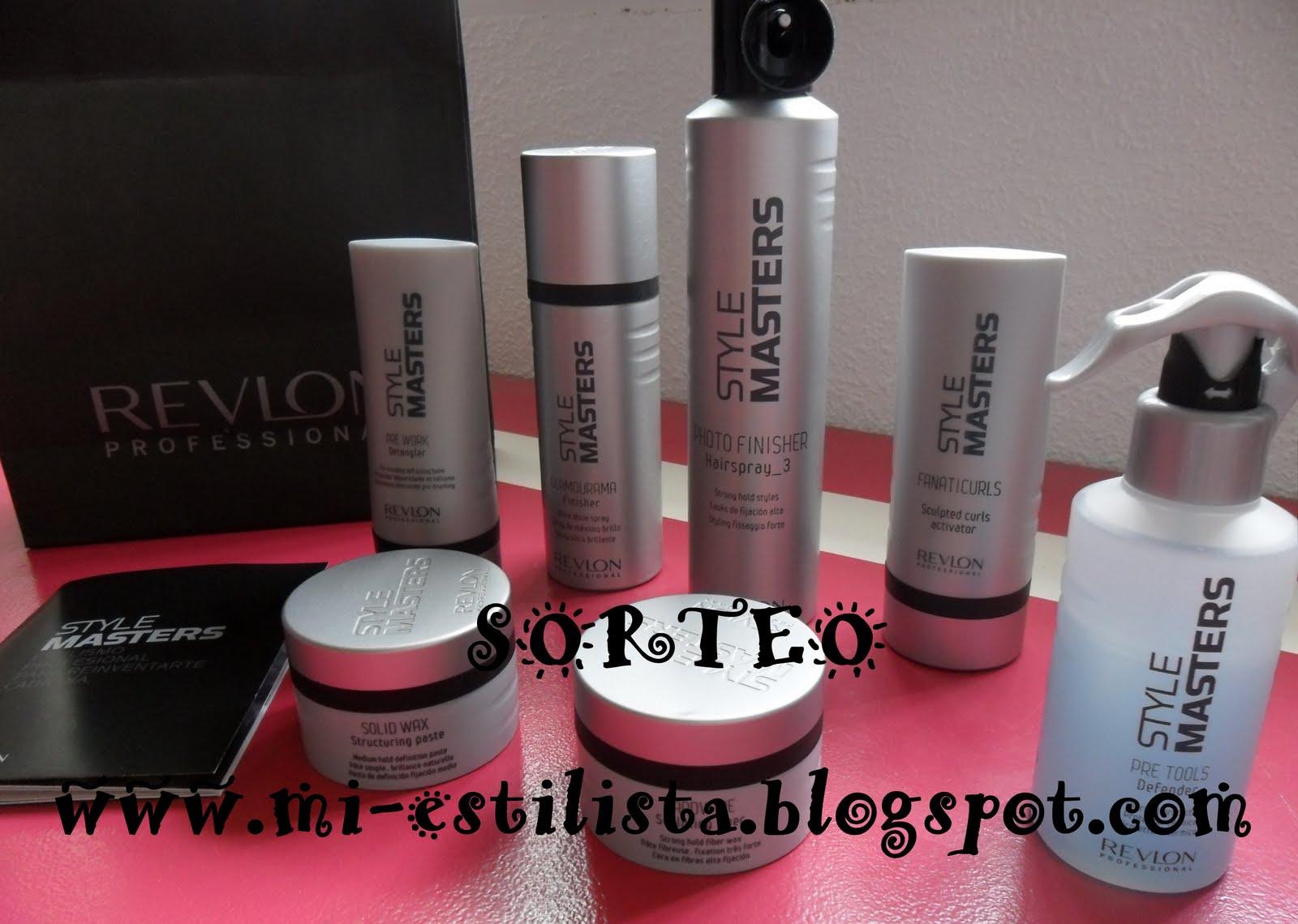 Sorteo lote de productos REVLON PROFESSIONAL!!;