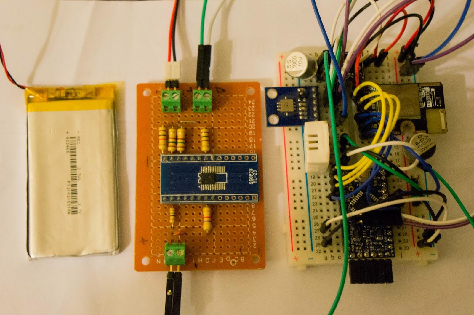 隨手小記 arduino 氣象站 ver wifi