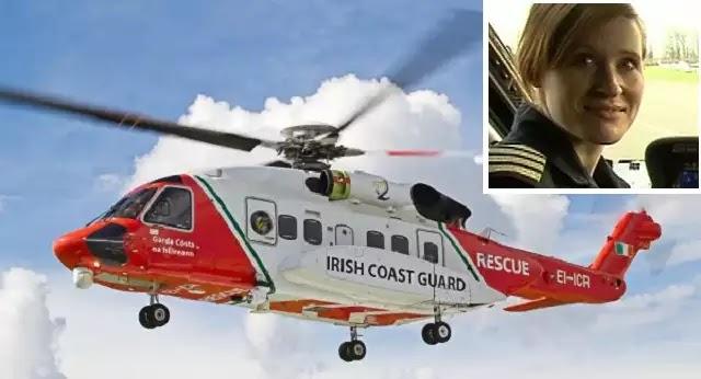 Συντριβή ελικοπτέρου S-92 της Ιρλανδικής Ακτοφυλακής:νεκρή η πιλότος, αγνοούμενο το υπόλοιπο πλήρωμα