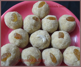 Sivan's Kitchen - bander laddu