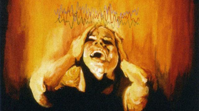 Artistas que sufre de migraña representan lo que los terribles dolores de cabeza se sienten