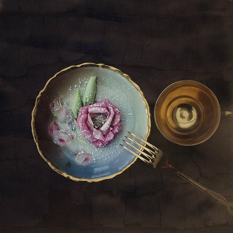 Deliciosas flores de azúcar glaseada por Bettina Güber