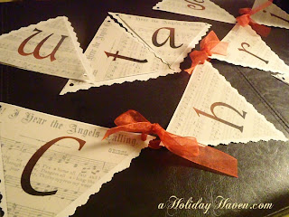 Free printable Christmas banner
