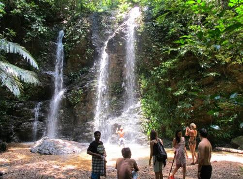 Klong Jark, Waterfall Bay