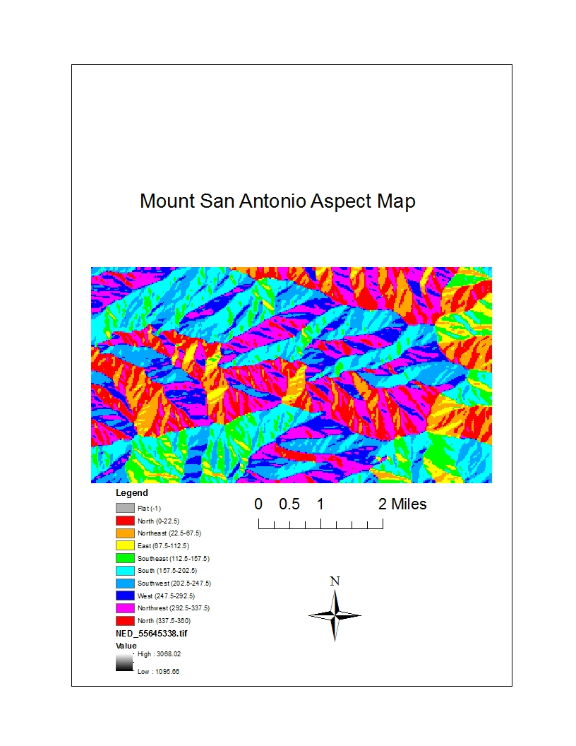 the area that i selected is found within the mount san antonio area the area consists of mostly mountain grounds and a stream called fish fork that