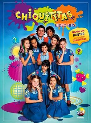 Quais os clipes no DVD Chiquititas 2013