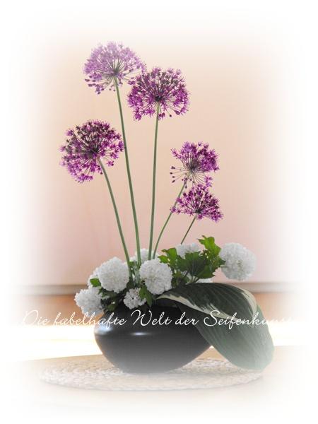 Die fabelhafte Welt der Seifenkunst: Allium zu Muttertag