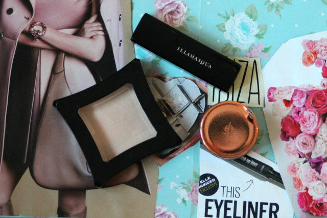 . glamore, collection, cream, embellish, eye, eyeshadow, first impressions, highlighter, illamasqua, lip. face. gleam, lipstick, nudes, once, review, rose gold, starkers,