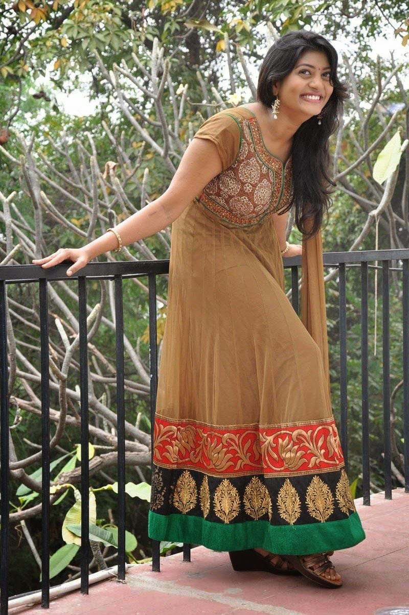 Sowmya in Olive Green Churidar Latest Stills