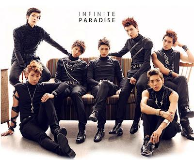 Infinite members Paradise